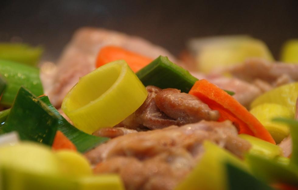 Enkel wok