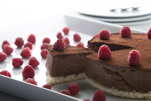 Sjokolade_ganache_kake