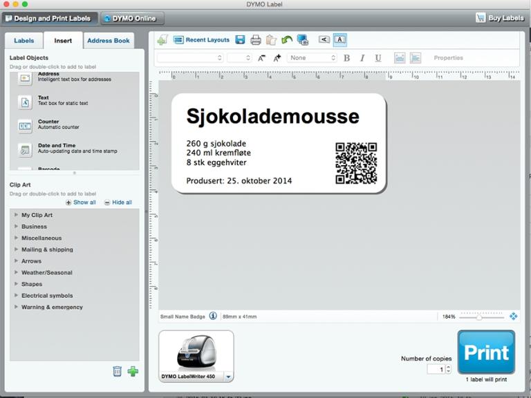 dymo_skjermdump